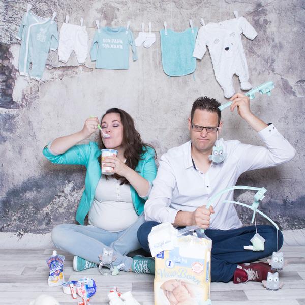 Zwangerschap aankondiging